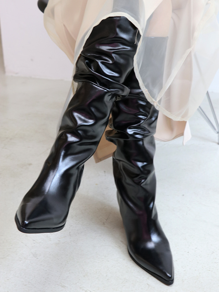 Coating Long Boots (2 colors)