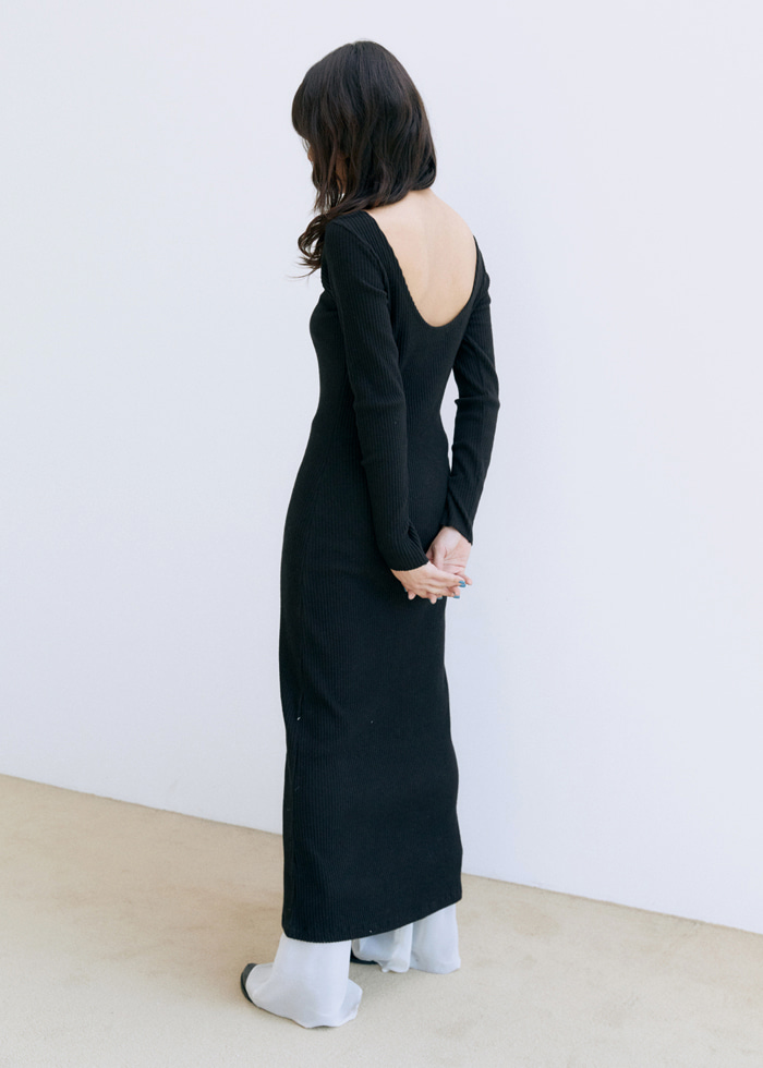 Round Back Dress(2color)