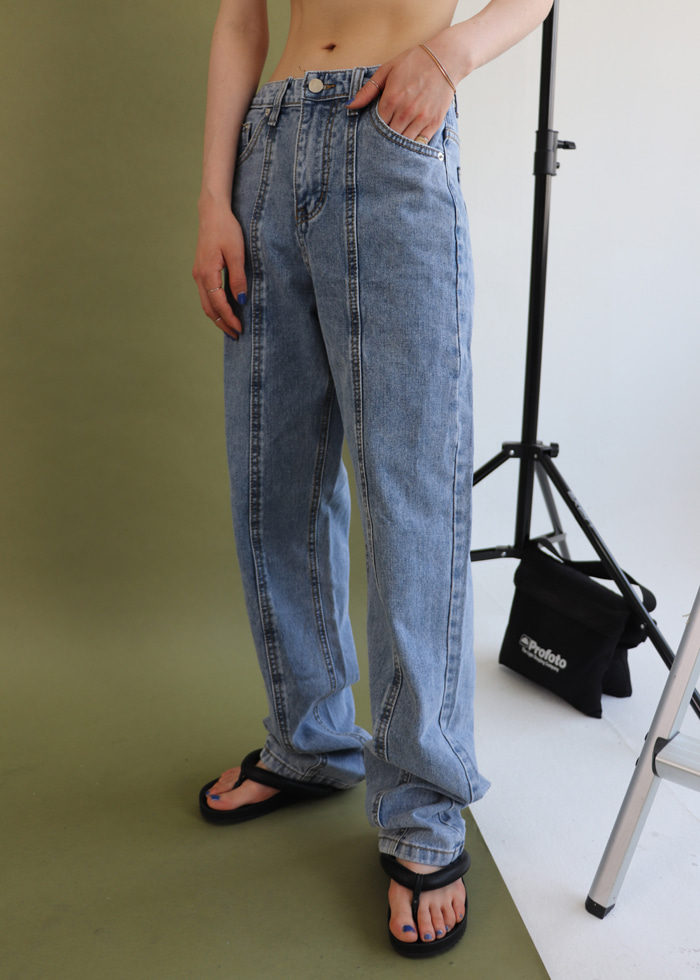 Centerline Denim Pants