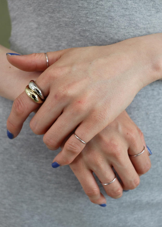 Layered Set Ring