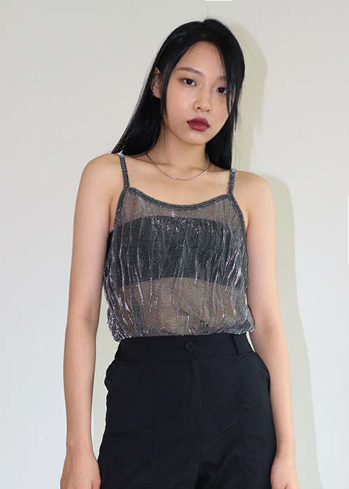 Twinkle see-through Top(3colors)