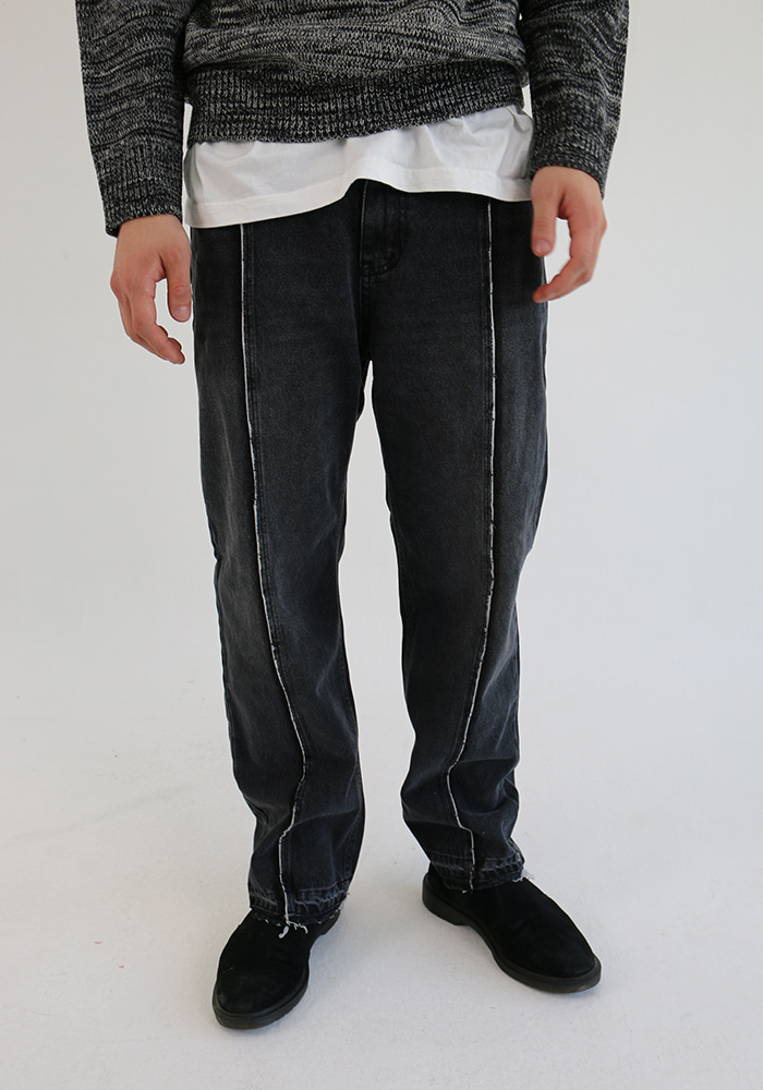 Bleach Line Wash Jean (2 colors)
