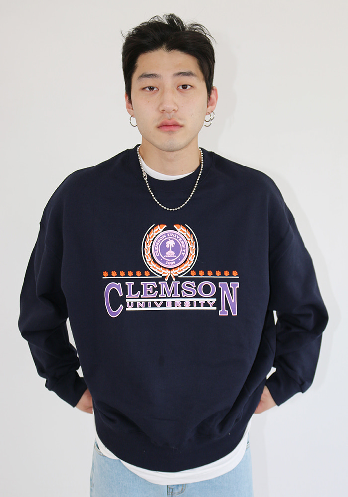 Boyfriend Clemson Sweatshirts (2 colors)