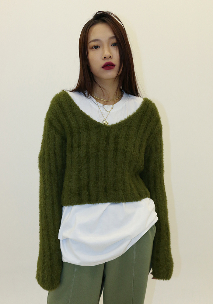 Loose Line Crop Knit (5 colors)