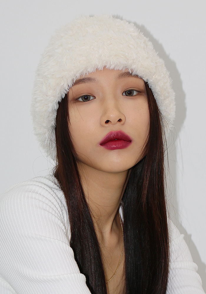 Soft Fur Beanie (2 colors)