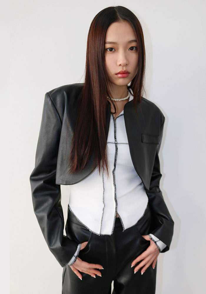Round Bolero Jacket (2 colors)