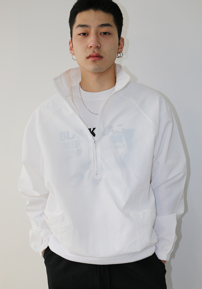 Basic Nylon Anorak (3 colors)
