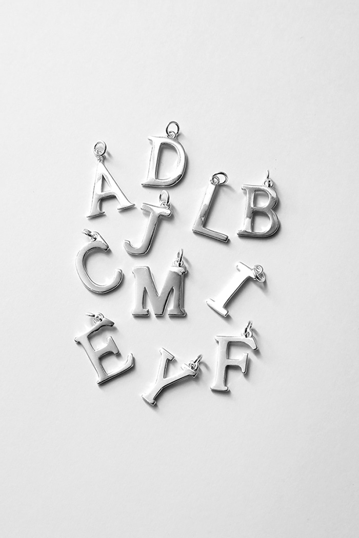 Initials Neckless (925silver) 55