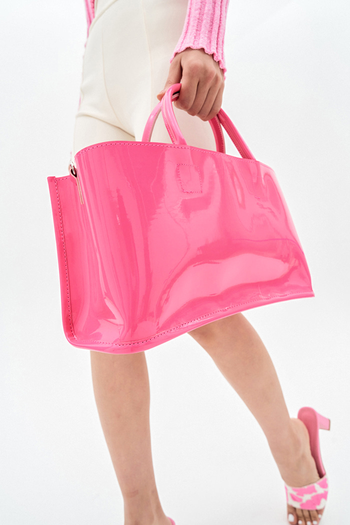 Glossy 2way Bag (4 colors)
