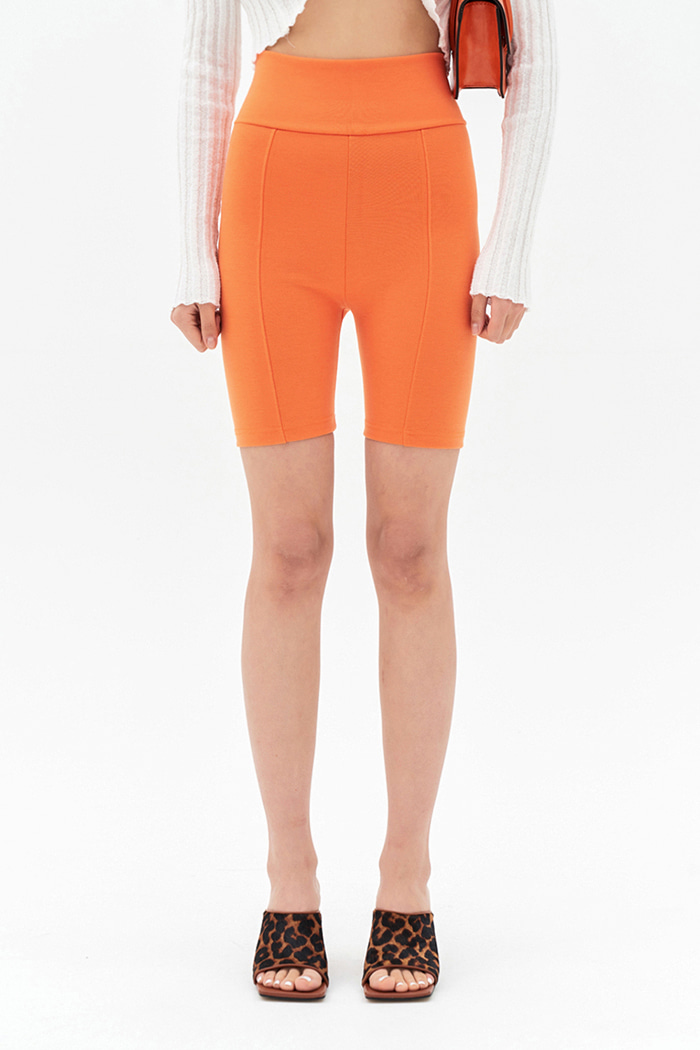 Bike Shorts Orange