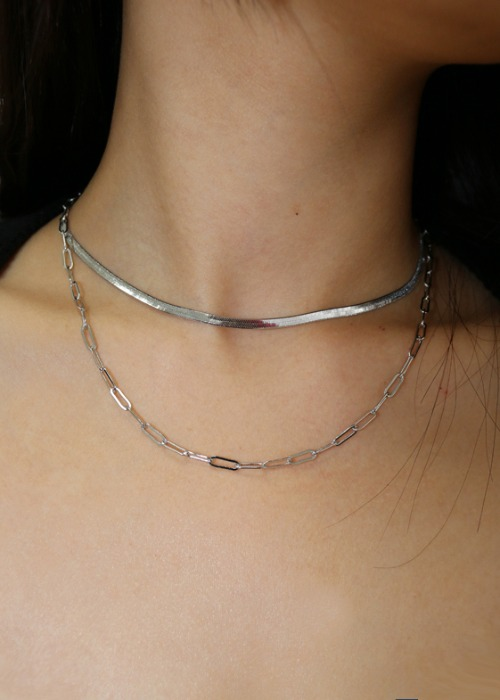 Layered Set Neckless (2 Color)