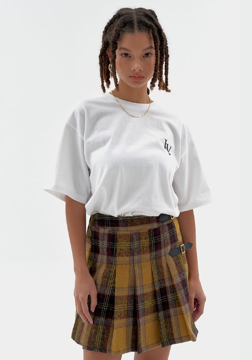 High School Check Skirt (2 colors)