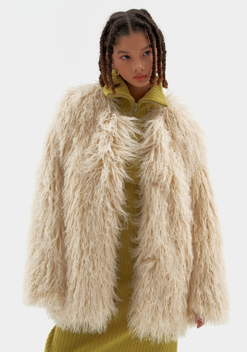 Rolly Fur Jacket (2 colors)