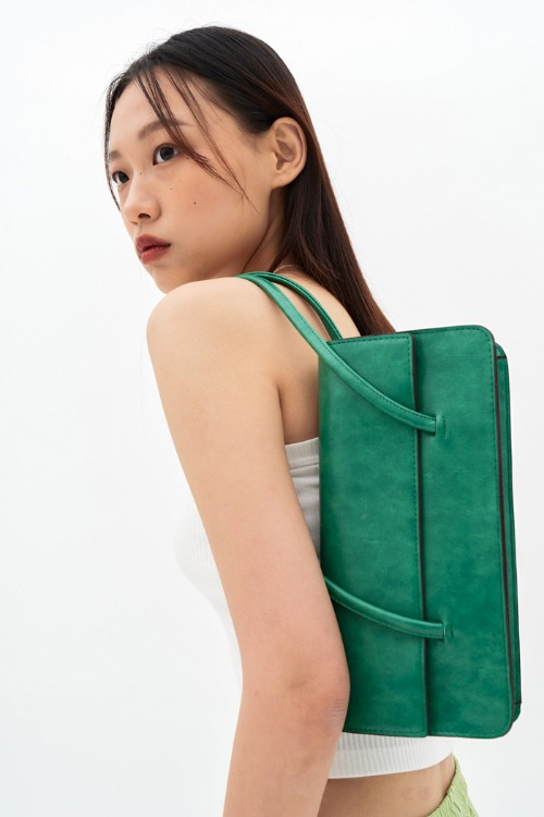 Square Shoulder Bag (2 colors)